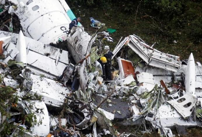 Lý do không ngờ khiến máy bay Colombia gặp nạn