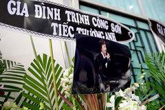 Quang Linh, Cẩm Vân đến sớm tiễn NSƯT Quang Lý