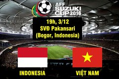 Link xem trực tiếp Việt Nam vs Indonesia 19h00 ngày 3/12