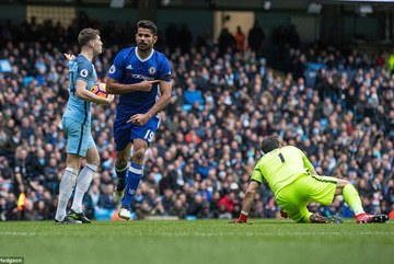 Video bàn thắng Man City 1-3 Chelsea