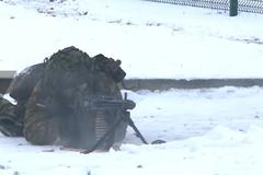NATO tập trận 'Gươm thép' trong tuyết giá