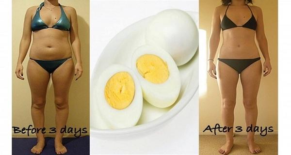 giảm cân, ăn trứng, trứng gà, giảm cân siêu tốc, thực đơn giảm cân