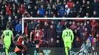 Liverpool 3-4 Bournemouth(Vòng 14 - NHA 2016/17)