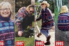 Phát hiện Hillary mặc một chiếc áo suốt 21 năm