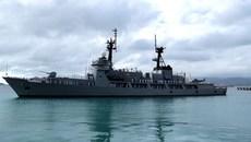 Tàu chiến Philippines thăm Cảng quốc tế Cam Ranh