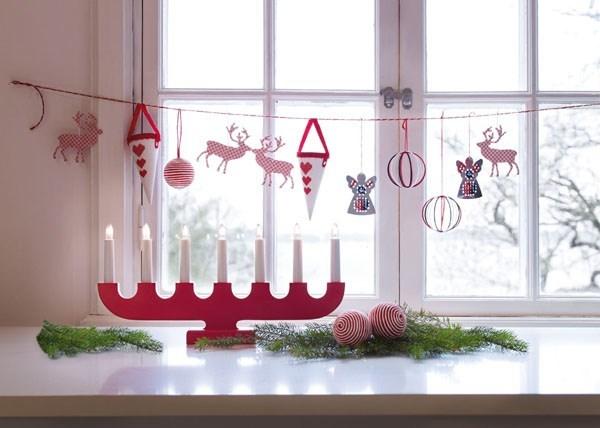 Giáng sinh, trang trí nhà đón Giáng sinh, cây thông Noel