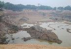 Hàng triệu khối đất sát sân bay Nội Bài bị múc bán
