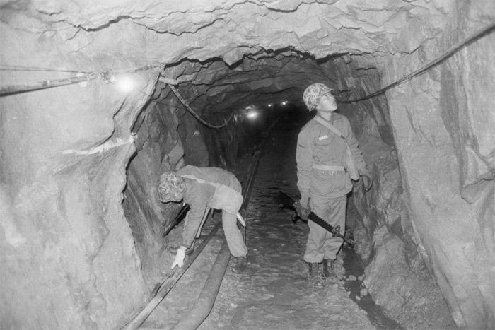 Đường hầm bí ẩn Triều Tiên dẫn sang Hàn Quốc