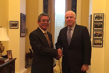 Cuộc gặp của Đại sứ VN với Thượng nghị sĩ John McCain