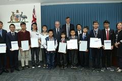 Học sinh Việt đạt nhiều giải cao ở cuộc thi toán học của Úc