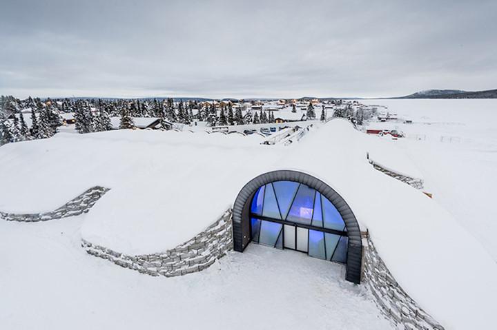 20161207101925 13 Tham quan bên trong khách sạn băng mở cửa quanh năm ở Thụy Điển