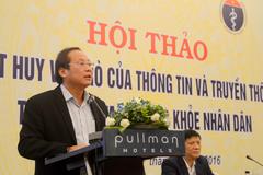Bộ trưởng TT&TT: Báo chí phải sạch khi truyền thông y tế
