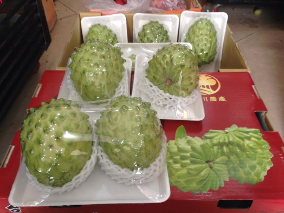 hoa quả, mãng cầu, mãng cầu Đài Loan, mãng cầu Việt Nam