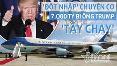 """""""Đột nhập"""" phi cơ 7 nghìn tỷ bị Trump tẩy chay"""