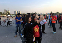 Mỹ Đình Nóng rực trước trận Việt Nam vs Indonesia