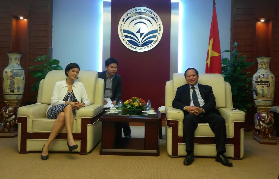 Đề nghị thành lập Hiệp hội Công nghệ thông tin Việt - Pháp
