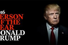 Time chọn Trump là 'Nhân vật của Năm'
