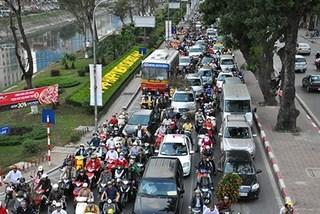 Hà Nội áp dụng phí đăng ký ôtô mới là 20 triệu đồng