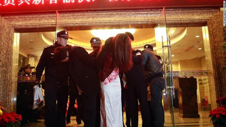 mại dâm, Trung Quốc, thế giới ngầm