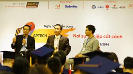 Aptech Job Fair 2016 'chắp cánh' thành công cho sinh viên CNTT