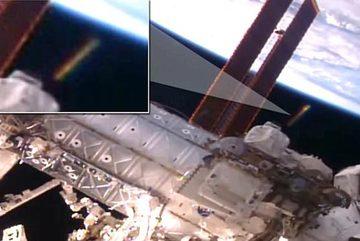 Phát hiện UFO bí ẩn gần trạm vũ trụ quốc tế
