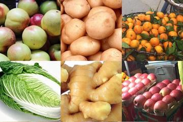 Nhận diện các loại rau củ, hoa quả Tàu nhập về Việt Nam