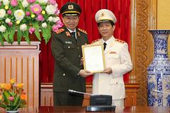 Thứ trưởng Công an Nguyễn Văn Sơn được thăng hàm Trung tướng