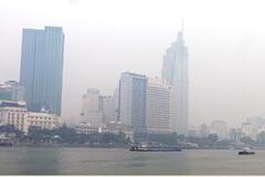 Sài Gòn se lạnh trong sương mù bao phủ