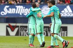 Messi chói sáng, Barca vùi dập Osasuna