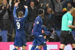 Video bàn thắng Leicester 4-2 Man City