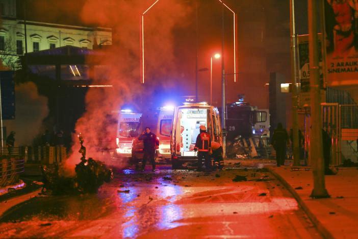 Nổ lớn ngoài sân vận động Istanbul, ít nhất 29 người chết