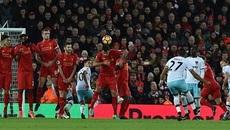 Liverpool mất điểm vì