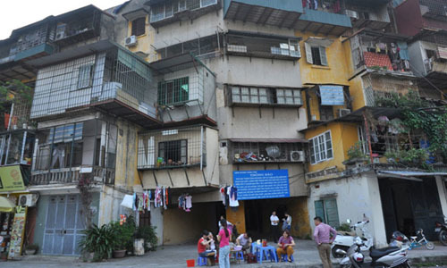 Cải tạo chung cư cũ: Hà Nội xin cơ chế đặc thù