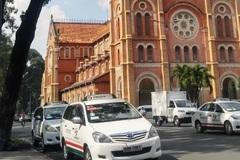 Thí điểm lập 5 điểm đón taxi ở trung tâm Sài Gòn