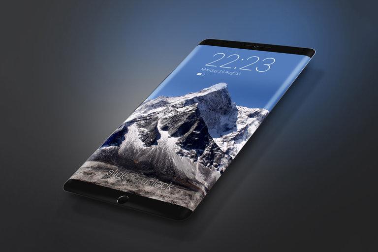 iPhone 8 có thể loại bỏ toàn bộ nút vật lý