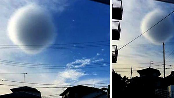 Mây tròn kỳ quái khiến dân lo sợ