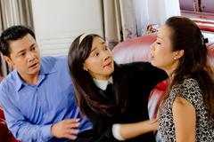 Kim Chi đến nhà Lý Hùng hoá giải chuyện hiểu lầm