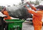 Đà Nẵng: Trẻ sơ sinh 'bỏ quên' trong thùng rác ở bãi biển