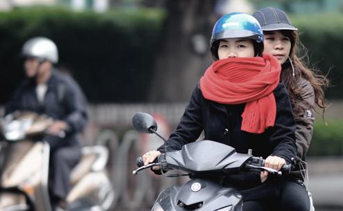 Hà Nội ngấm rét, Đà Nẵng đến Nha Trang mưa rất to