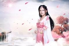 Từ bỏ hình tượng nóng bỏng, hot girl Phi Huyền Trang dịu dàng trong cosplay Lang Gia Bảng