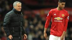 Mourinho cáu tiết vì Rashford thi đấu chểnh mảng