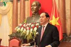 Chủ tịch nước gặp mặt cựu chuyên gia VN giúp cách mạng Campuchia