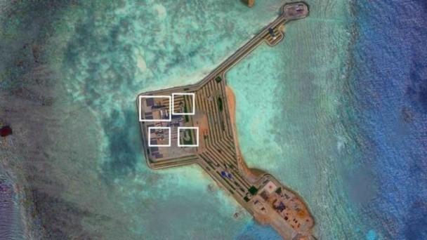 Trung Quốc, vũ khí, Biển Đông, đảo nhân tạo