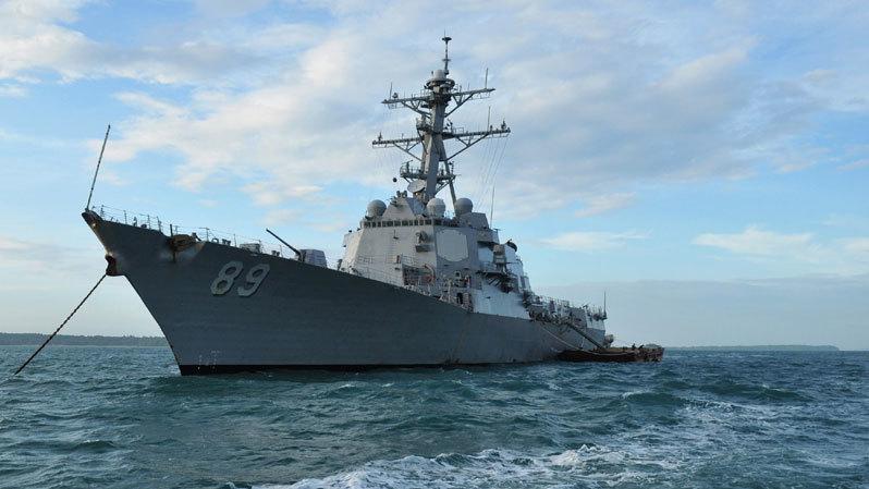 Tàu khu trục Mỹ, cảng quốc tế Cam Ranh