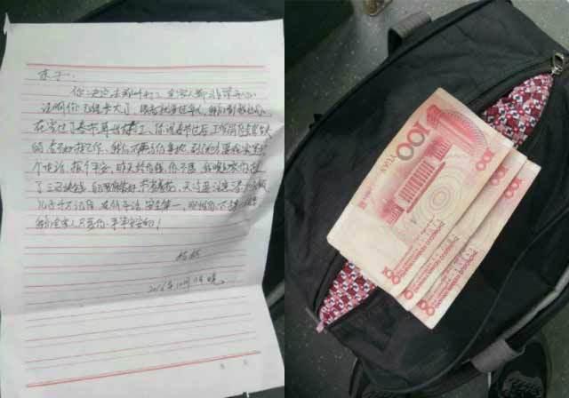 Dân mạng rớt nước mắt đọc thư mẹ gửi con xa nhà