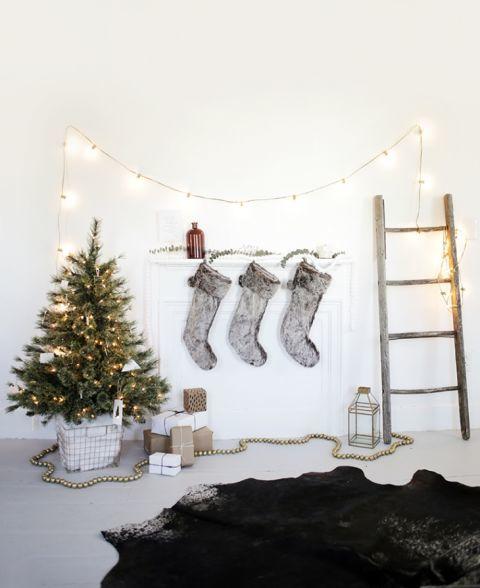 10 ý tưởng trang trí Giáng sinh cho nhà nhỏ