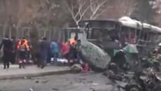 Đánh bom xe ở Thổ Nhĩ Kỳ, nhiều người thương vong