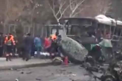 Đánh bom xe buýt tại Thổ Nhĩ Kỳ, nhiều người thương vong