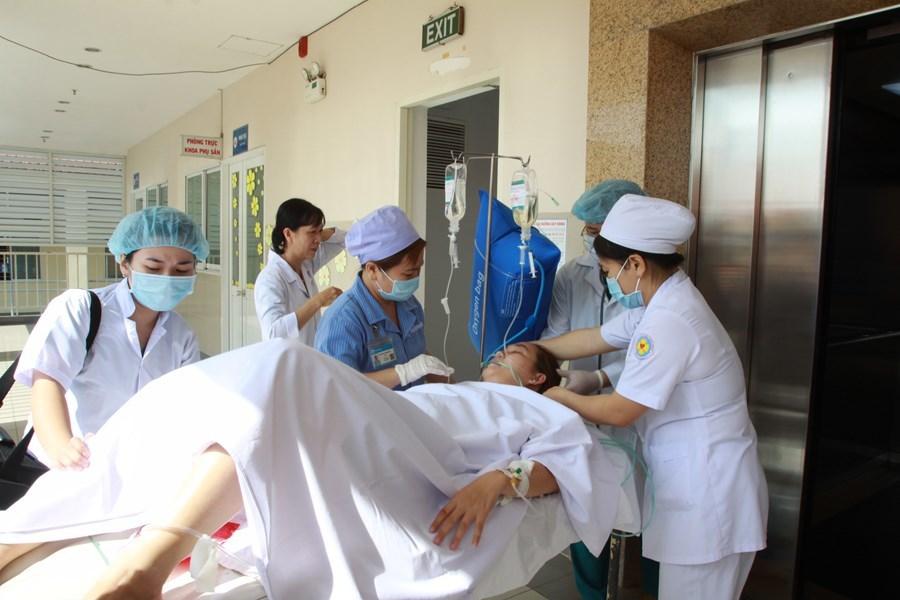 Ba bệnh viện hợp sức cứu sản phụ khỏi cửa tử
