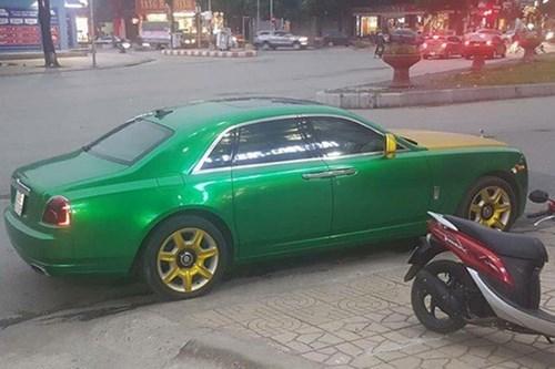 Đại gia Ninh Bình độ Rolls-Royce chục tỷ thành taxi